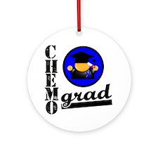 Chemo Grad Colon Cancer Ornament (Round)