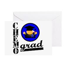 Chemo Grad Colon Cancer Greeting Card