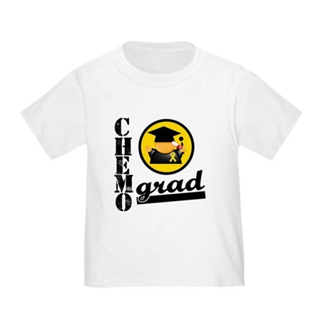 ChemoGradChildhoodCancer Toddler T-Shirt