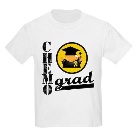ChemoGradChildhoodCancer Kids Light T-Shirt