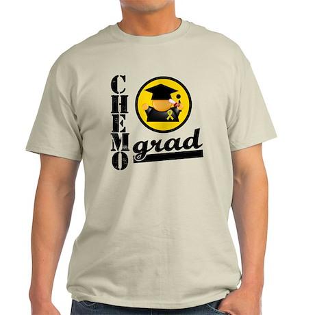 ChemoGradChildhoodCancer Light T-Shirt