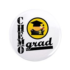 "ChemoGradChildhoodCancer 3.5"" Button"