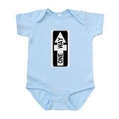 One Way (Jesus Cross) Infant Creeper