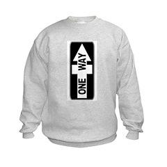 One Way (Jesus Cross) Sweatshirt