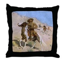 The Scout by Remington Throw Pillow