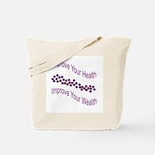 Improve Wealth Tote Bag
