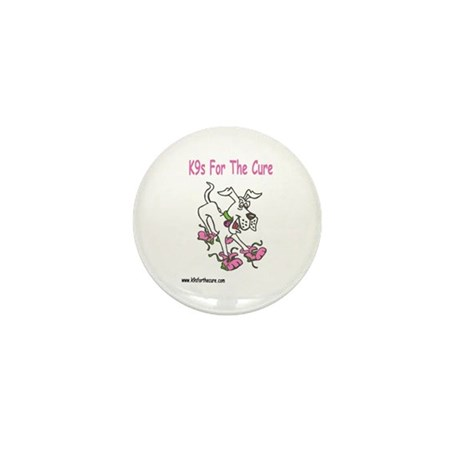 K9s For The Cure Mini Button