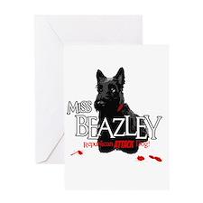 Miss Beazley Greeting Card