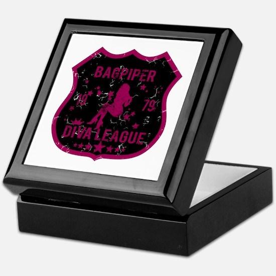 Bagpiper Diva League Keepsake Box