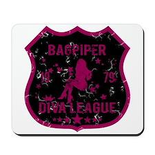 Bagpiper Diva League Mousepad
