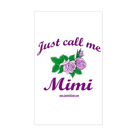 MIMI 1 Rectangle Sticker