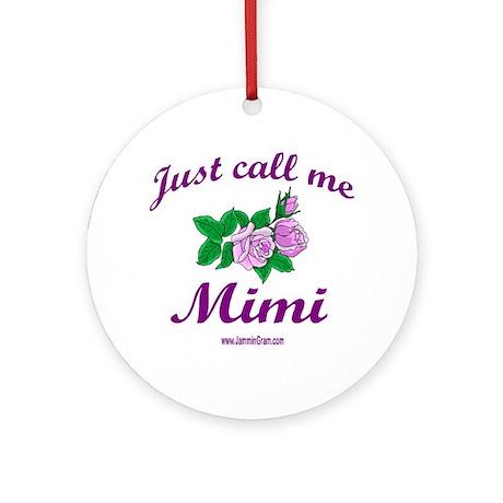MIMI 1 Ornament (Round)