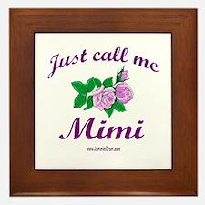 MIMI 1 Framed Tile