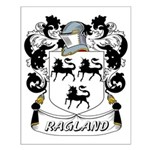 Ragland Coat of Arms Small Poster