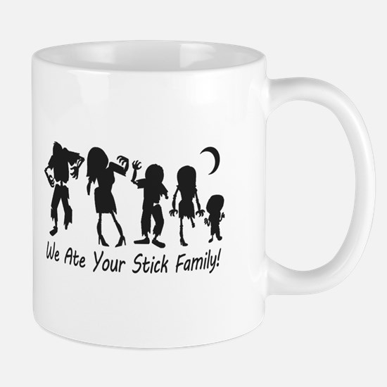 We Ate Your Stick Family Mugs