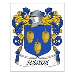 Reade Coat of Arms Small Poster
