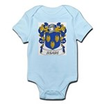 Reade Coat of Arms Infant Creeper