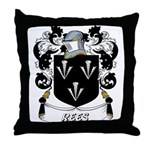 Rees Coat of Arms Throw Pillow