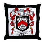 Revell Coat of Arms Throw Pillow