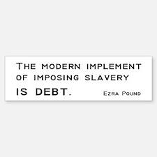 Slavery Sticker (Bumper)