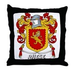 Rhese Coat of Arms Throw Pillow