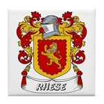 Rhese Coat of Arms Tile Coaster
