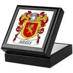 Rhese Coat of Arms Keepsake Box