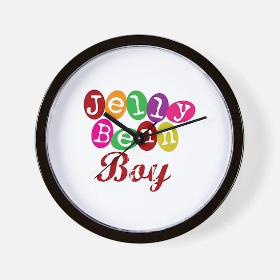 Jelly Bean Boy Wall Clock