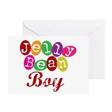 Jelly Bean Boy Greeting Card