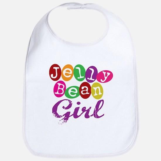 Jelly Bean Girl Bib