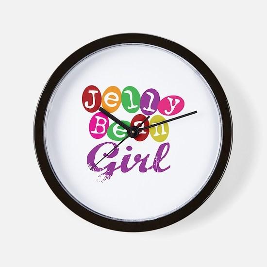 Jelly Bean Girl Wall Clock