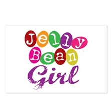 Jelly Bean Girl Postcards (Package of 8)