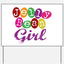 Jelly Bean Girl Yard Sign