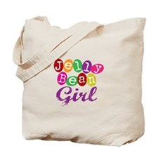 Jelly Bean Girl Tote Bag