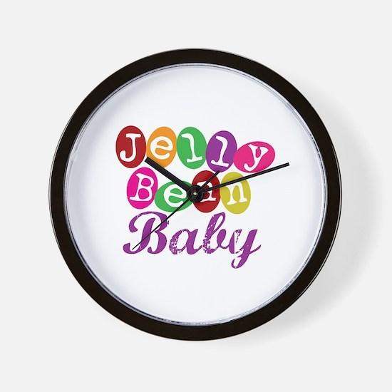 Jelly Bean Baby Wall Clock