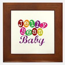 Jelly Bean Baby Framed Tile