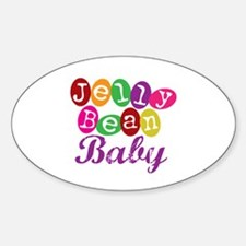 Jelly Bean Baby Oval Decal