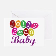 Jelly Bean Baby Greeting Card