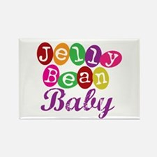 Jelly Bean Baby Rectangle Magnet (100 pack)