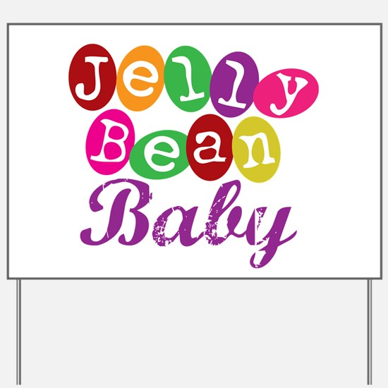 Jelly Bean Baby Yard Sign