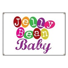 Jelly Bean Baby Banner