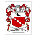 Rochewell Coat of Arms Small Poster