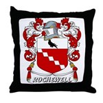 Rochewell Coat of Arms Throw Pillow