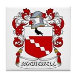 Rochewell Coat of Arms Tile Coaster