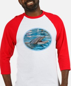 Laughing Dolphin - Baseball Jersey