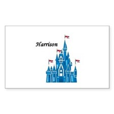 Harrison Rectangle Decal