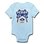 Rudde Coat of Arms Infant Creeper