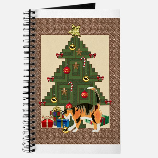 tree trimming cat Journal