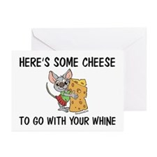 Whine & Cheese Greeting Cards (Pk of 20)