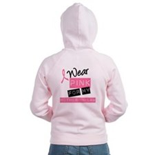 I Wear Pink Mother-in-Law Zip Hoodie
